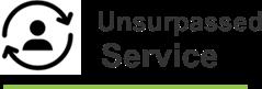 Unsurpassed Service